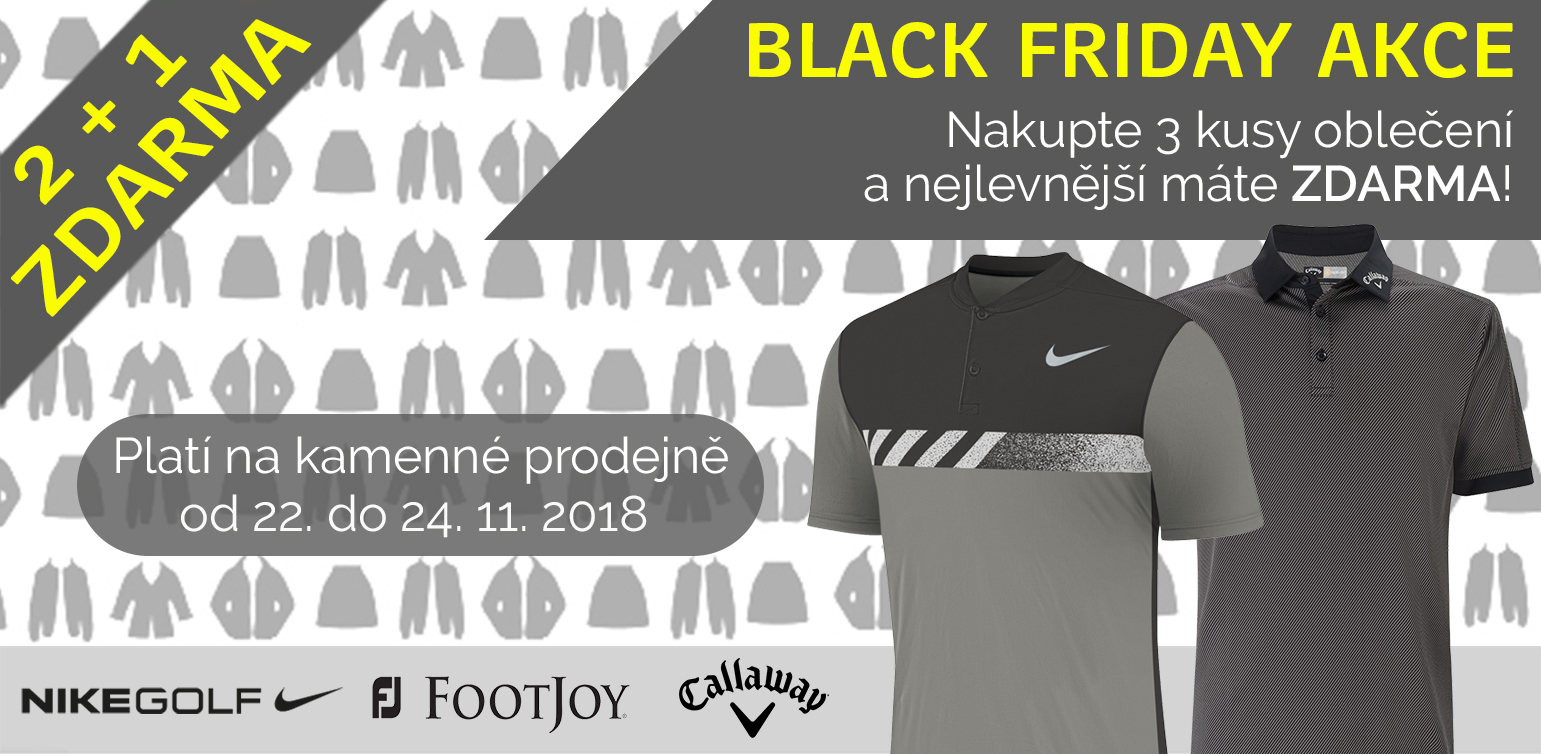 Black friday 2+1 zdarma